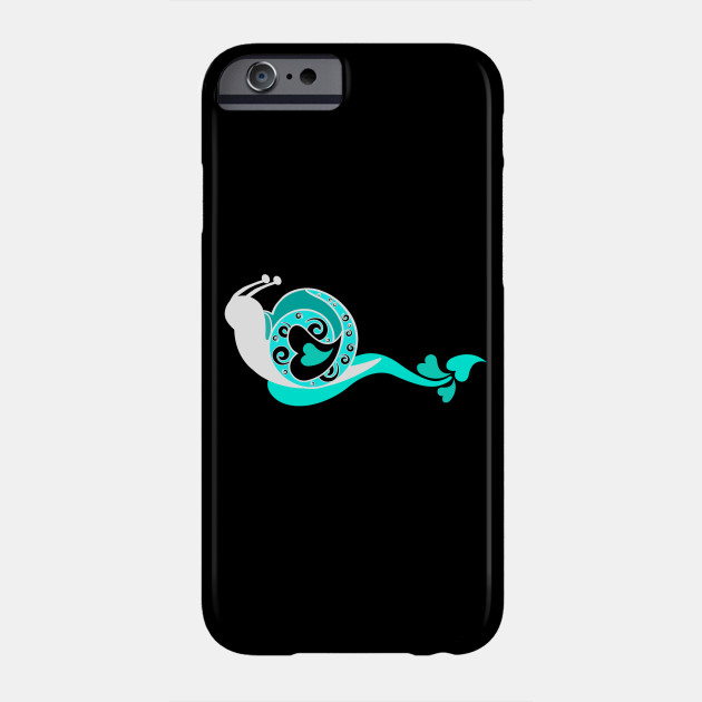 Snail with hearts, Valentine's day, give woman Phone Case