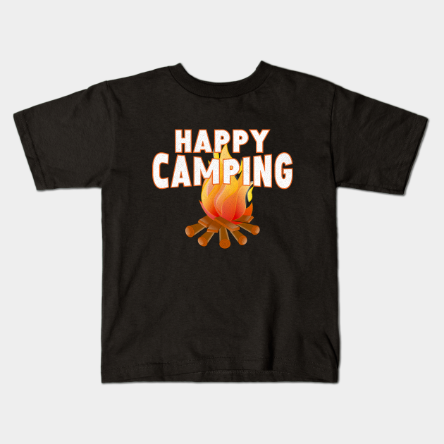 happy camping gift for camping lovers