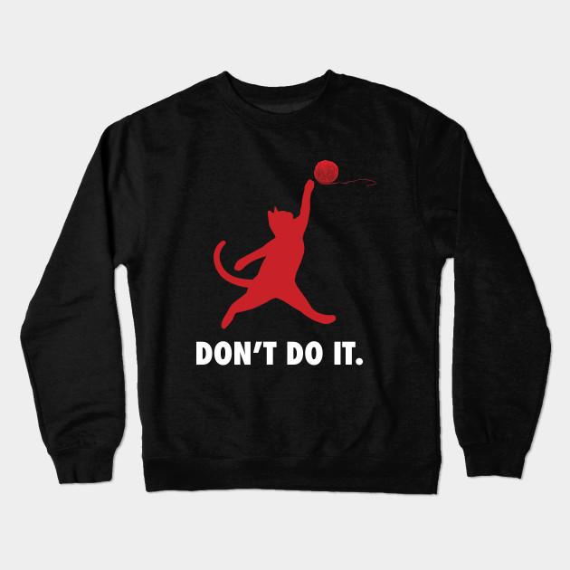 7d7765f03b5e The Jumpcat logo - Michael Jordan - Crewneck Sweatshirt