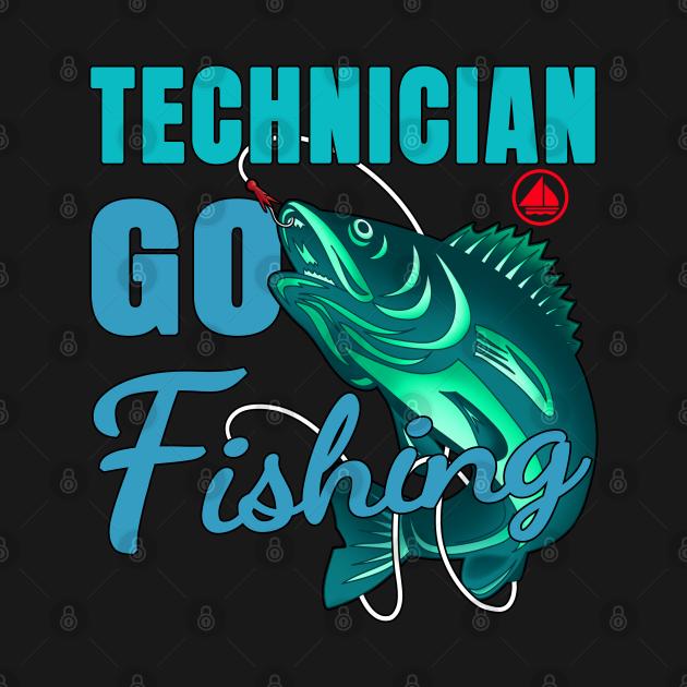 Technician Go Fishing
