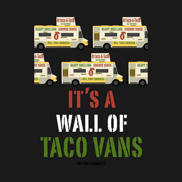 Wall Of Taco Vans!