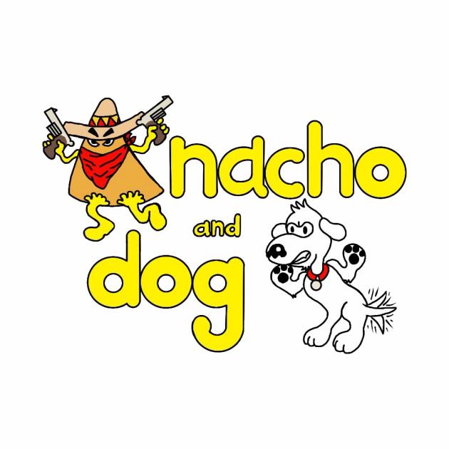 Nacho and Dog Cartoon