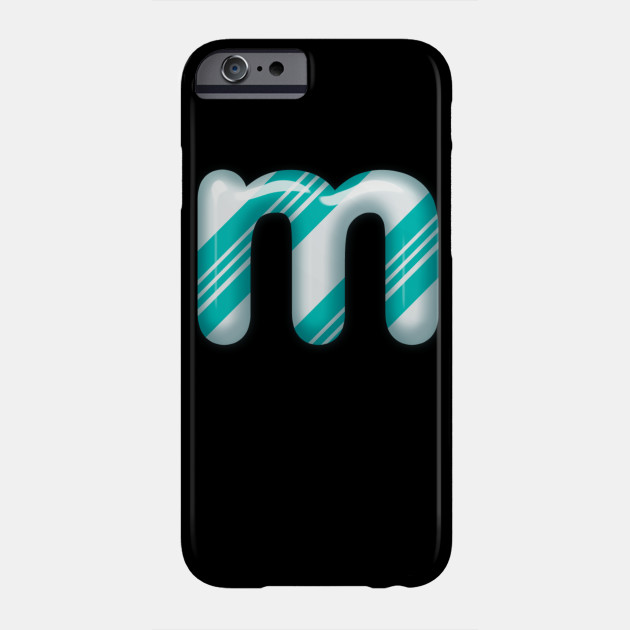 letter m alphabet matching Halloween Phone Case