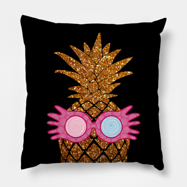 Luna Glasses Pineapple - Summer Golden Beach Pineapple