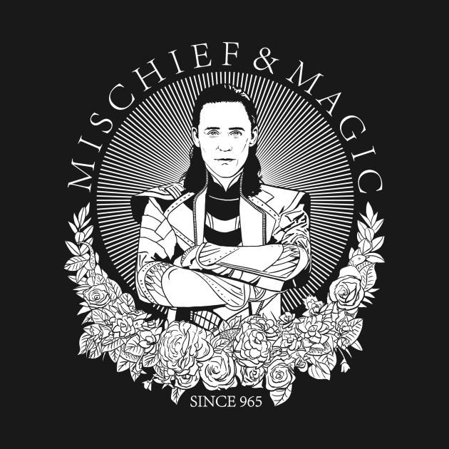mischief & magic since 965 - WHITE