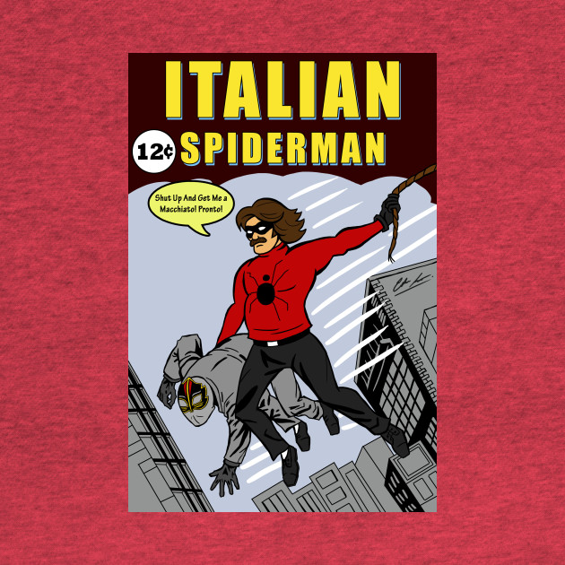 Italian Spiderman No. 1