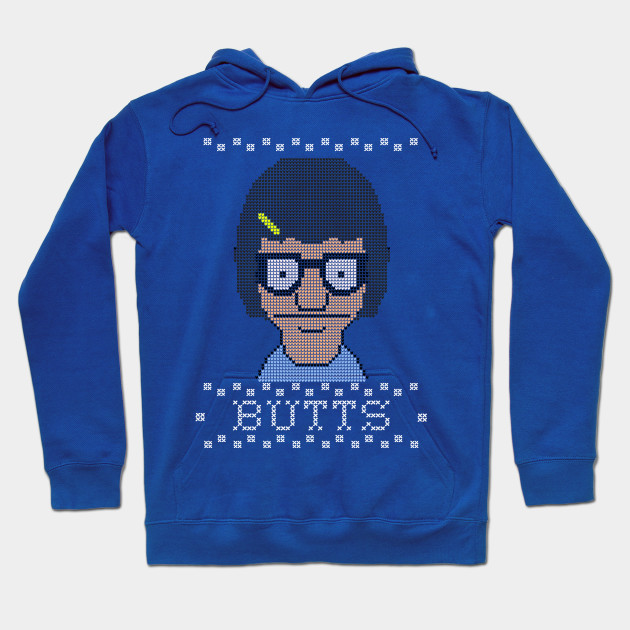 Tina's Butts Holiday sweater