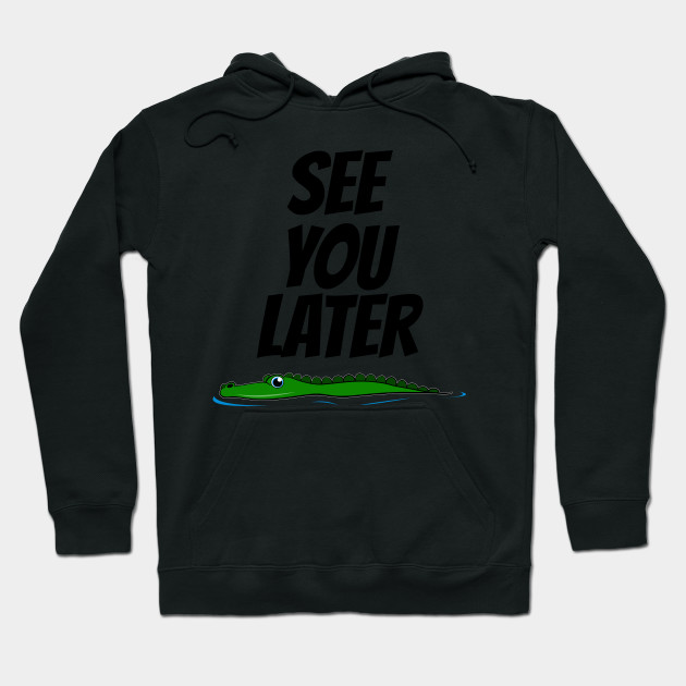 The Hunting Alligator Hoodie