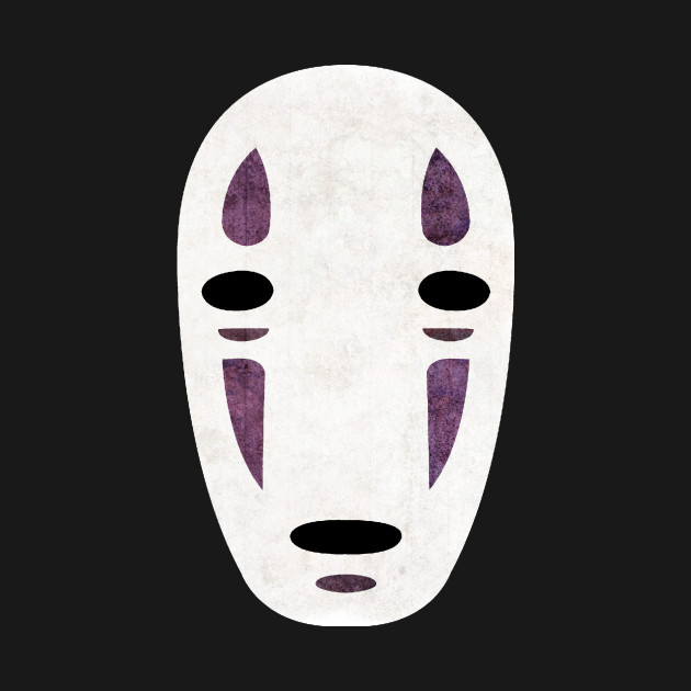 No-Face - Spirited Away - T-Shirt | TeePublic