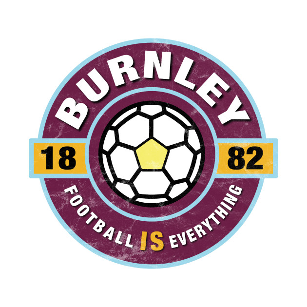 Football Is Everything - Burnley Retro - T-Shirt