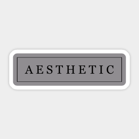 Aesthetic Stickers | TeePublic UK