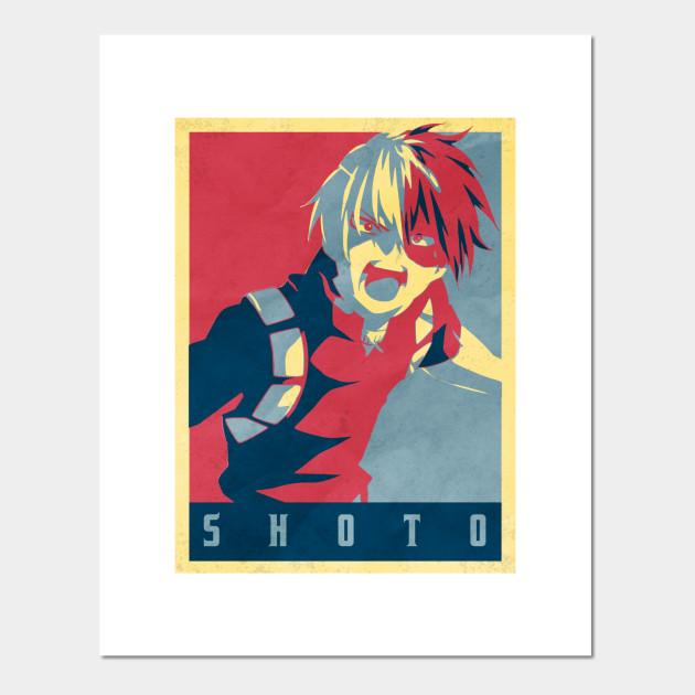 Shoto Todoroki My Hero Academia Anime Shirt