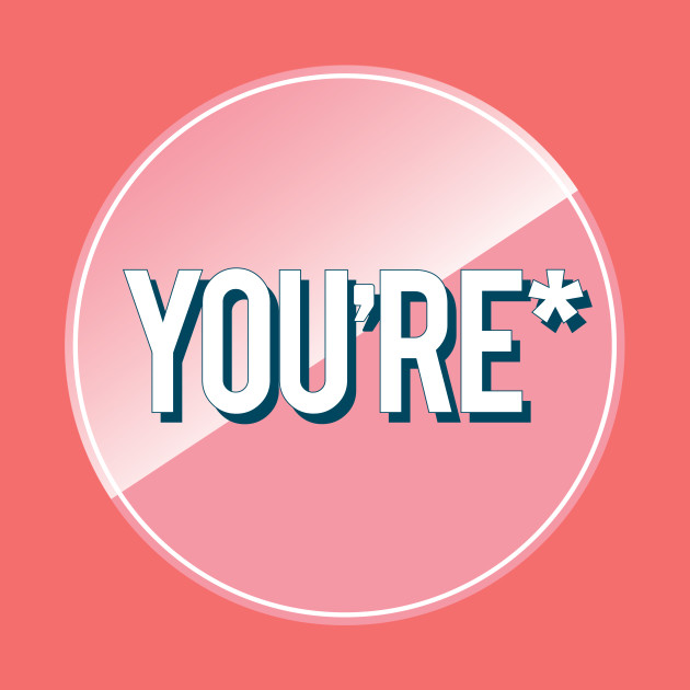 Funny Grammar | You're | Spell it right