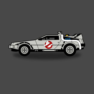 Ghostbusters to the Future! t-shirts