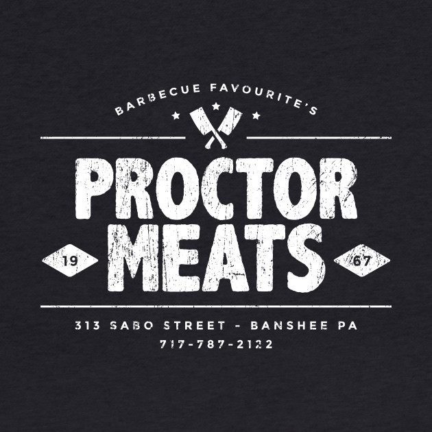 Proctor Meats t-shirt (aged look)