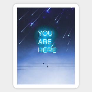 Blue Aesthetic Stickers Teepublic