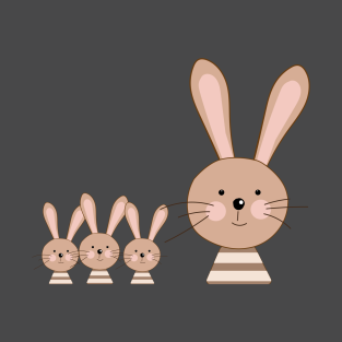 41f4e14c Cute Rabbit T-Shirts | TeePublic