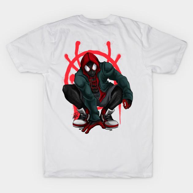 b34ac9ac Miles Morales - Spider Man - T-Shirt | TeePublic