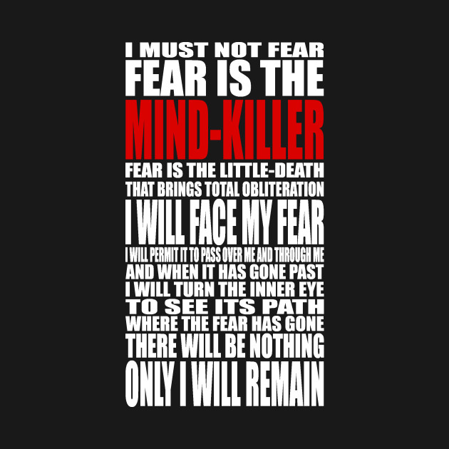 Dune Litany Against Fear