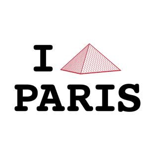 I Louvre Paris t-shirts