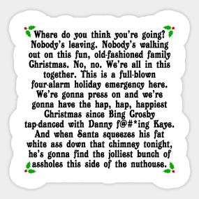 hap hap happiest christmas sticker - Christmas Vacation Rant