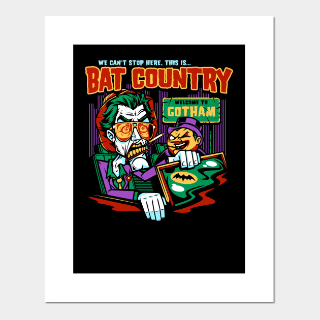Bat Country (Penguin Design)