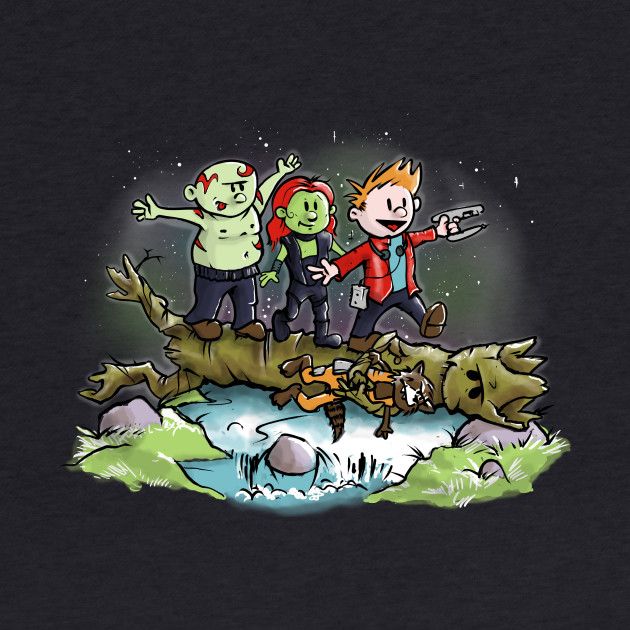 Guardians of the Galaxy Calvin & Hobbes