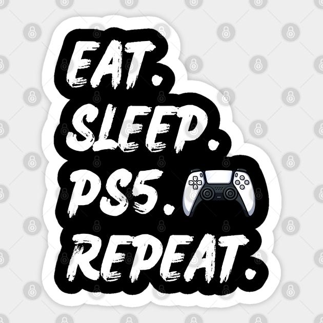 Mug Gift for PS5 gamer Birthday or Christmas Gift Eat Sleep PS5 Repeat