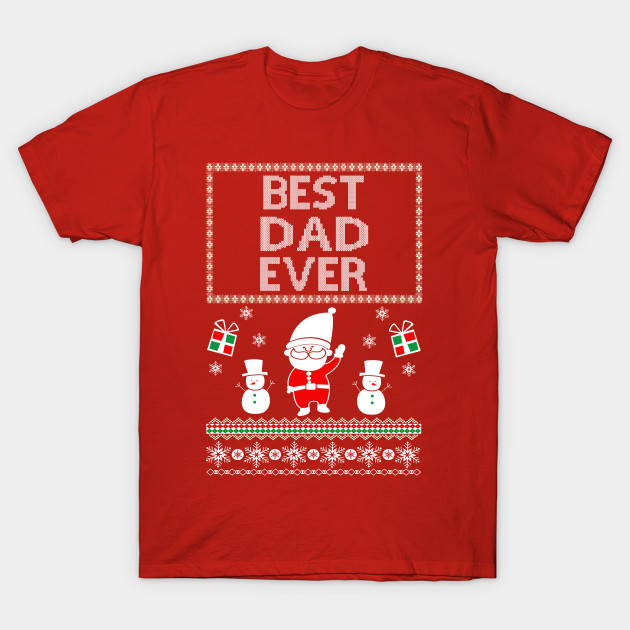 Awesome ugly christmas gift for Best dad ever - Ugly Christmas ...