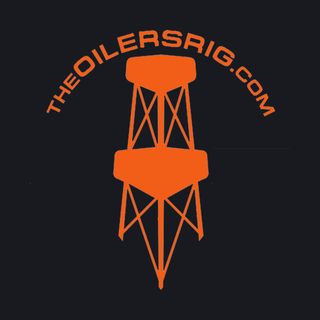 Oilers Rig Alternate Logo Orange