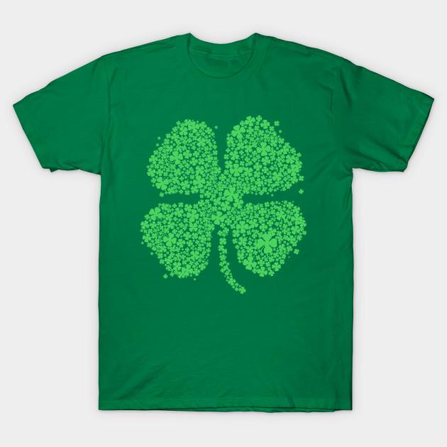 bd24ad157 Four Leaf Clover Green Shirt St Patricks Day Shamrock Shirt II - St ...