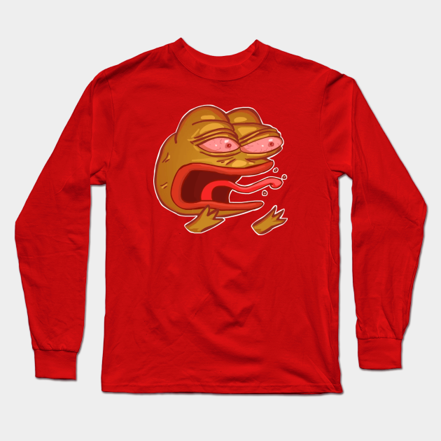 Reeee Pepe Ree Long Sleeve T Shirt Teepublic