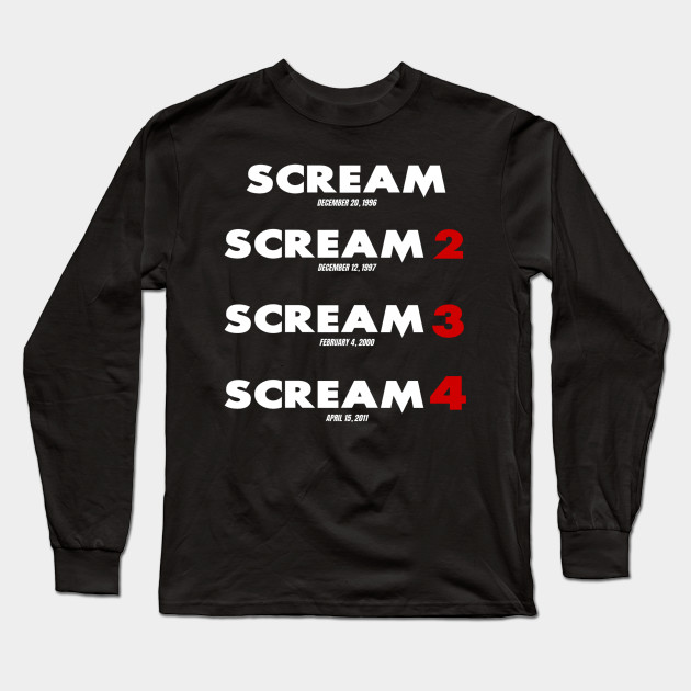 Scream Legacy Long Sleeve T-Shirt
