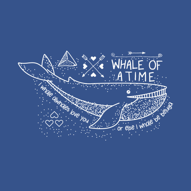 I Whale Alwhales Love You T-Shirt