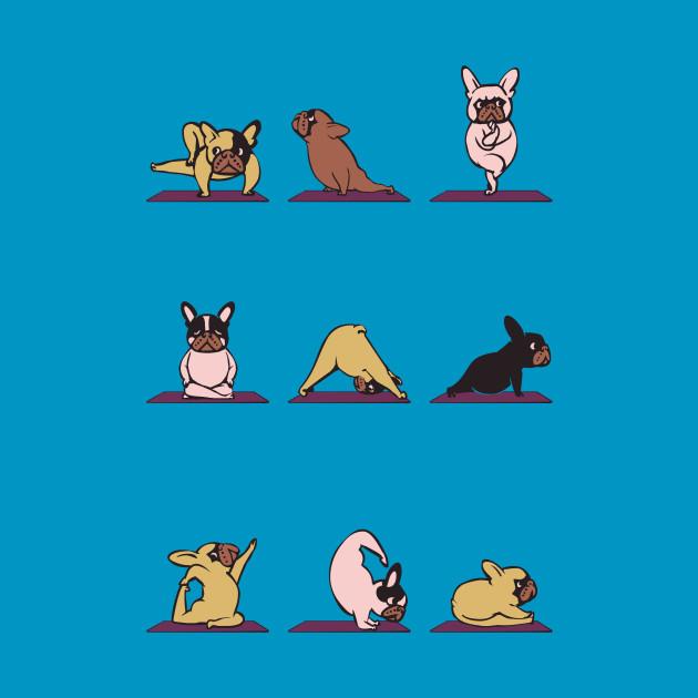 frenchie yoga