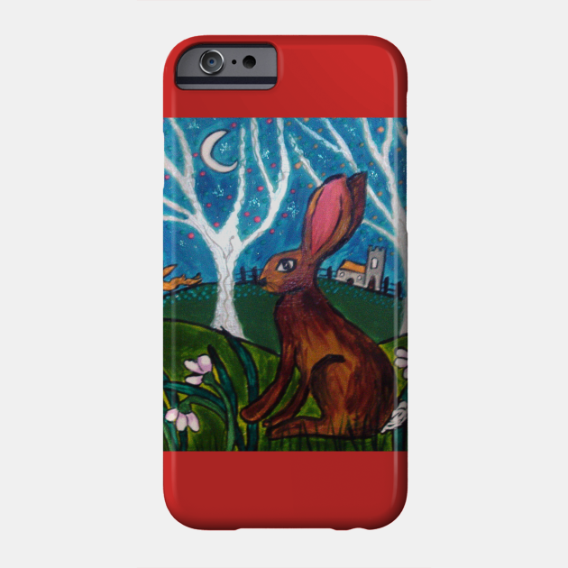 Hare among Snowdrops