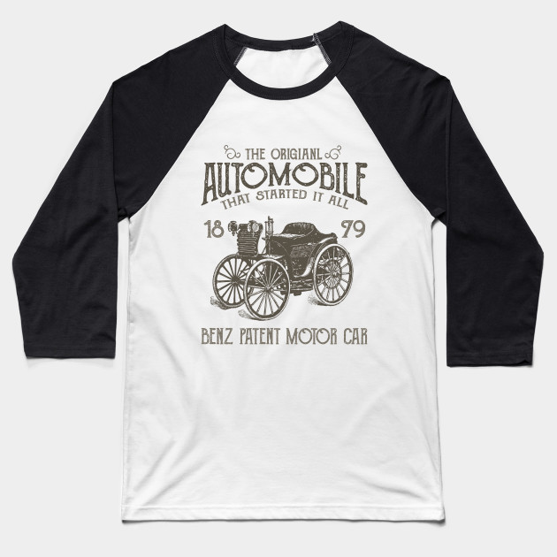 Benz - The Original Automobile Baseball T-Shirt