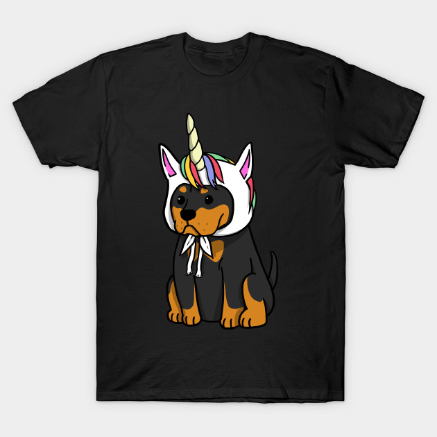 da46242ea0 Funny Unicorn Rottweiler - Rottweiler - T-Shirt | TeePublic