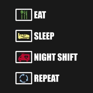 1e5a50476e Night Shift Nurse T-Shirts   TeePublic