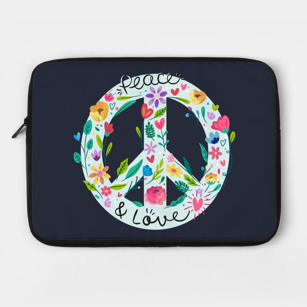 Flower Power Laptop Sleeve