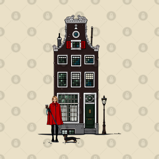 Amsterdam brown house