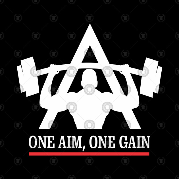 Planet Fitness One Aim One Gain Workout Fitness Tasse