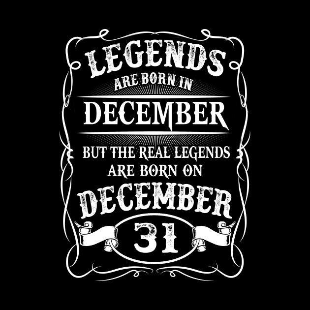 Legends Kings are Born on December 31