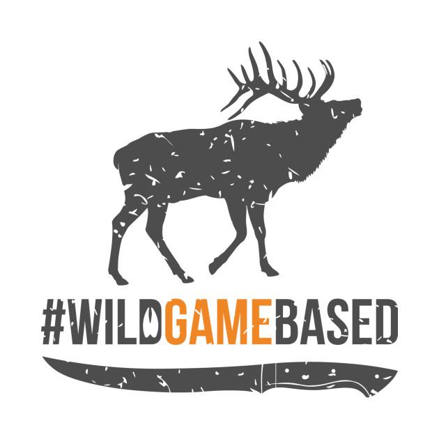 Wild Game Based Elk Logo - Front & Back