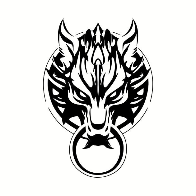 FF7  Fenrir Wolf
