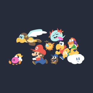 Paper Mario: First Adventure t-shirts
