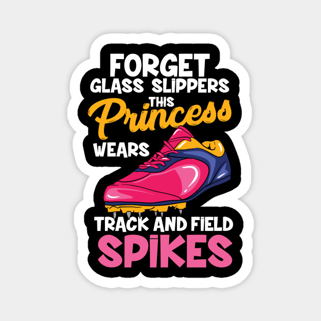 Sporty Woman Princess Wear Spikes Funny