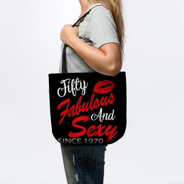 Silhouette Fifty Fab Woman: Womens Women Fifty Fabulous And Sexy Since 1970 T-Shirt