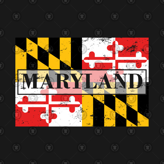 Maryland State Flag - Gift Maryland Flag Maryland