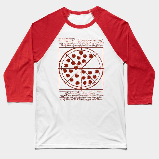 a17087b61 VITRUVIAN PIZZA - Spiderman - Baseball T-Shirt | TeePublic